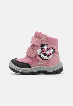 Geox - DINSEY FLANFIL GIRL ABX - Bottes de neige - rose