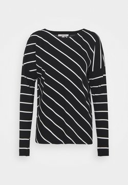 comma casual identity - Langarmshirt - black