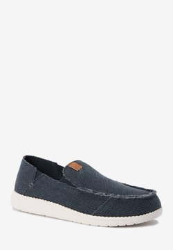 Next - RELAXED FRAY  - Loafers - dark blue