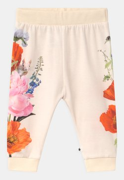 Molo - SUSANNE - Pantalones - white/multi-coloured