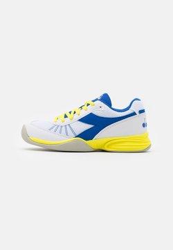 Diadora - S. CHALLENGE 3 YOUTH CARPET UNISEX - Tennisschoenen voor alle ondergronden - royal/white/yellow fluo