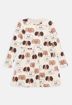 Mini Rodini - BABY FLUFFY DOG - Jerseykleid - beige