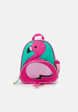 Skip Hop - ZOO PACK FLAMINGO - Tagesrucksack - pink/green