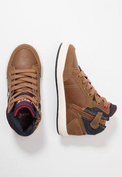 Levi's® - NEW MADISON MID - Sneakers hoog - cognac