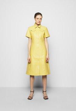 Proenza Schouler White Label - DRESS - Vestido camisero - citron