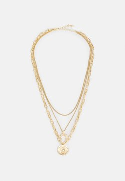 Pieces - PCSANDELINE NECKLACE  - Necklace - gold-coloured
