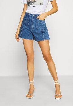Abrand Jeans - VENICE - Jeansshort - blue denim