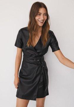 Mango - Korte jurk - černá
