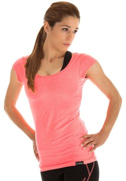 Winshape - T-shirt print - neon coral
