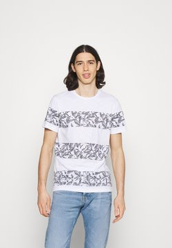 Jack & Jones - JORMONDAY - T-Shirt print - cloud dancer