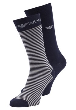 Emporio Armani - SHORT 2 PACK - Socken - navy blue