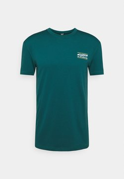 Quiksilver - ARIDROCKSSS TEE  - T-Shirt print - atlantic deep