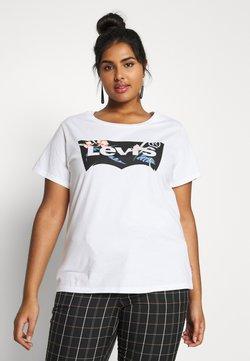 Levi's® Plus - THE PERFECT TEE - T-Shirt print - white