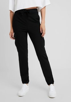ONLY Tall - ONLPOPTRASH CARGO BELT PANT - Jogginghose - black