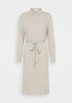 Vila - VIDANIA BELT DRESS - Sukienka koszulowa - dove