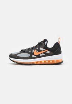 Nike Sportswear - AIR MAX GENOME UNISEX - Sneakers laag - black/total orange/grey fog/white