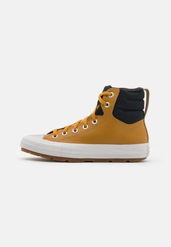 Converse - CHUCK TAYLOR ALL STAR BERKSHIRE UNISEX - Sneakers high - wheat/black/pale putty