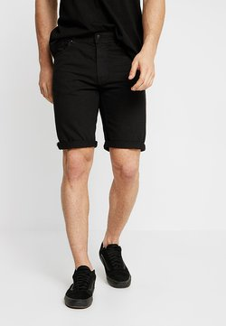 Cotton On - ROLLER - Jeansshort - rigid raven black