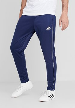 adidas Performance - CORE - Spodnie treningowe - dark blue/white