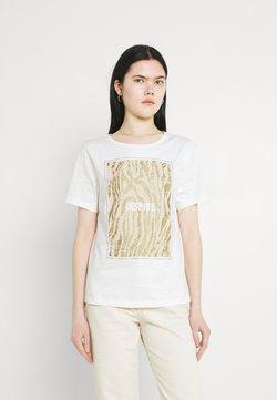 b.young - BXSILLI - T-Shirt print - birch mix