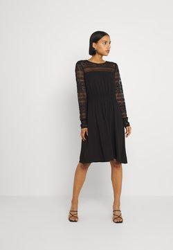 Vila - VIURIS LACE DRESS - Vapaa-ajan mekko - black