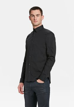 WE Fashion - SLIM FIT STRETCH - Hemd - black
