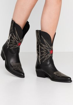 Felmini - WEST - Cowboy-/Bikerboot - black