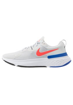 Nike Performance - REACT MILER - Juoksukenkä/neutraalit - pure platinum/racer blue/bright crimson