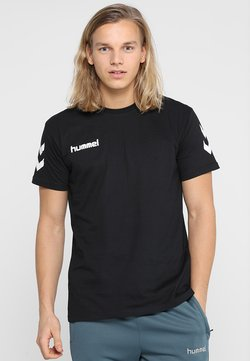 Hummel - Camiseta estampada - black