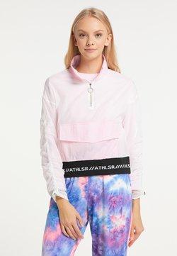 myMo ATHLSR - Windbreaker - weiß rosa