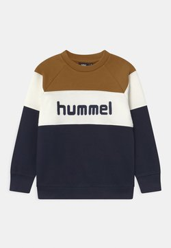 Hummel - CLAES UNISEX - Sweatshirt - rubber