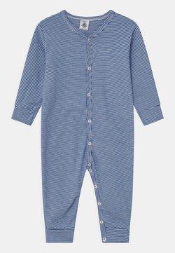 Petit Bateau - DORS BIEN SANS PIEDS - Pyjama - white/dark blue