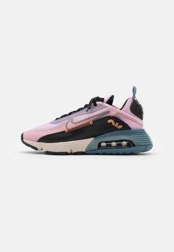 Nike Sportswear - AIR MAX 2090 - Sneakersy niskie - light arctic pink/black/ozone blue/healing orange/metallic copper/light orewood brown