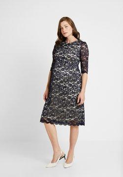 Paula Janz Maternity - DRESS ALICE MIDI - Cocktailkleid/festliches Kleid - dark blue