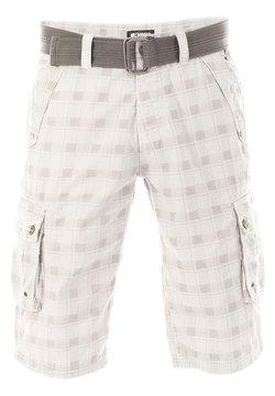 Riverso - RIVANTON - Shorts - white grey check
