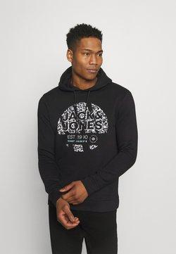 Jack & Jones - JCOBOOSTER HOOD - Sweater - black