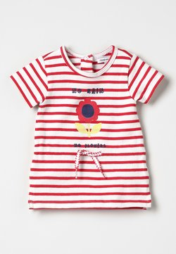 Noppies - DRESS FLOWER ROSELAND BABY ZGREEN - Freizeitkleid - bright red