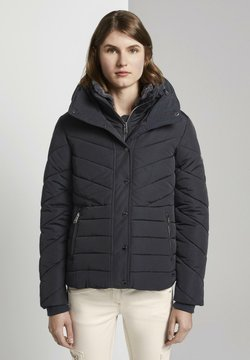 TOM TAILOR - MIT FELLKRAGEN - Winterjacke - sky captain blue