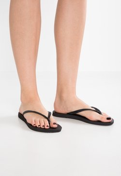 Havaianas - SLIM FIT - Teenslippers - black