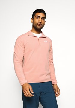 The North Face - GLACIER 1/4 ZIP - Fleecepullover - pink clay