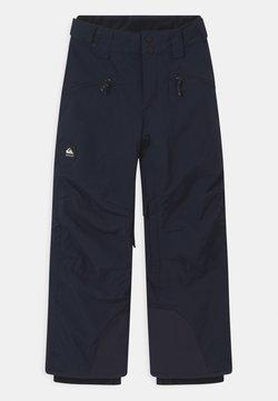 Quiksilver - BOUNDRY UNISEX - Talvihousut - navy blazer