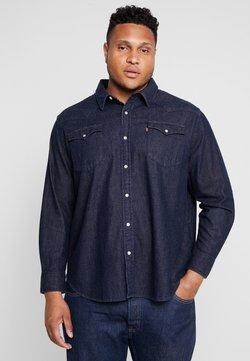 Levi's® Plus - BIG CLASSIC WESTERN - Skjorta - dark blue denim