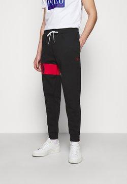 Polo Ralph Lauren - DOUBLE TECH - Jogginghose - black