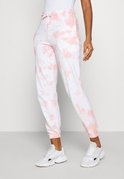 New Look - TIE DYE  - Jogginghose - mid pink
