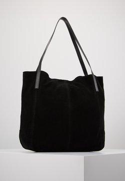 Anna Field - LEATHER - Shopping Bag - black