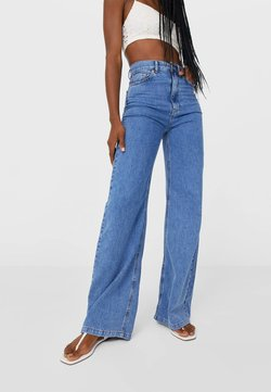 Stradivarius - Flared Jeans - blue