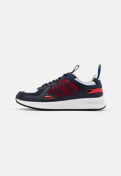 Armani Exchange - Sneaker low - red/white/black