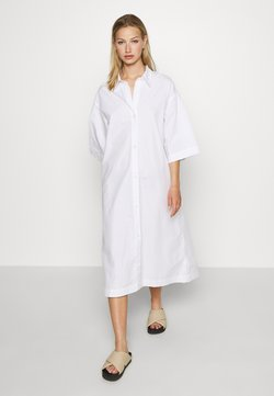 Monki - ELIN DRESS - Blusenkleid - white