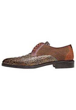 Melik Shoes - Veterschoenen - brown