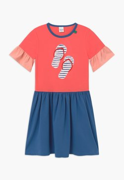 Fred's World by GREEN COTTON - OCEAN - Jerseykleid - coral
